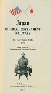 Japan  Imperial Government Railways  January 1915