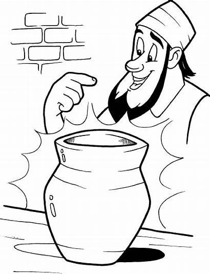 Clay Potter Jeremiah Clipart Potters Clip Sunday