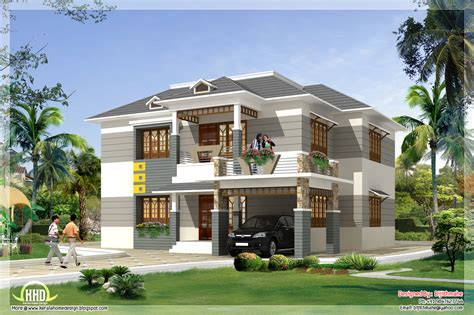 house design free 2700 sq kerala style home plan and elevation kerala