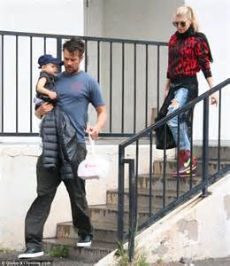 Fergie And Josh Duhamel Go For A Casual Grungy Look As