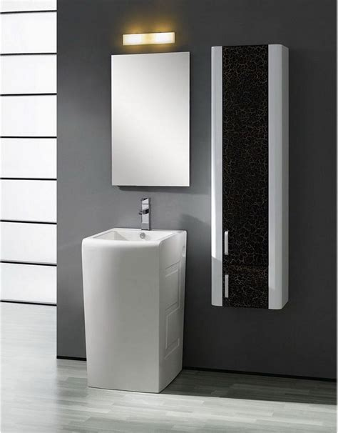 Modern Pedestal Sinks For Small Bathrooms, Small Bathrooms