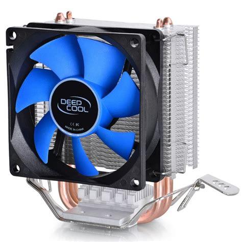 and cold fan cpu cooler mini ice cpu fan multi platform 8cm