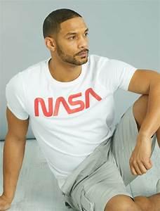 Kiabi T Shirt Homme : t shirt imprim logo 39 nasa 39 homme blanc kiabi 13 00 ~ Nature-et-papiers.com Idées de Décoration