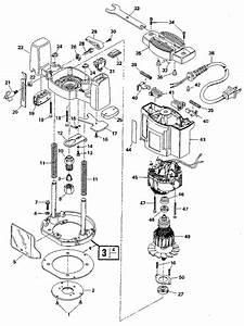 Craftsman Plunge Router Parts