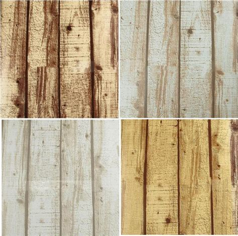 vinyl wood wall covering aliexpress com buy natural realistic rustic grained effect wood panel wallpaper vinyl