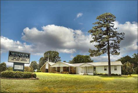 Woden Baptist Church at Woden in Historic Nacogdoches County
