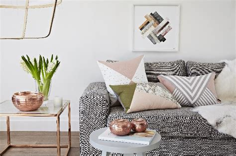 home floor and decor home decor explosive mix copper floor ls and pink details
