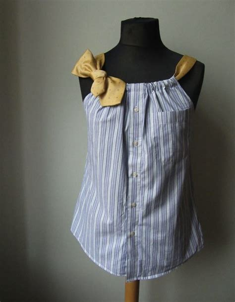Upcycled Dress Shirt  Upcycle That