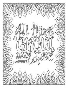 Printable Inspirational Coloring Pages Adult