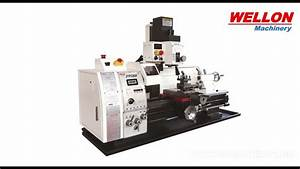 Turning Milling Drilling Combination Lathe Machine  Home