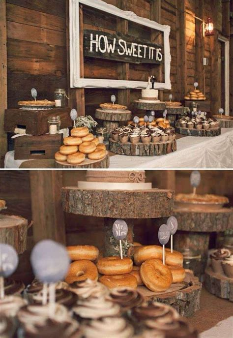 46 best donut party ideas images on rustic wedding party ideas donut cupcakes dessert bars