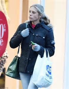 diana cape chelsy davy shops after a glamorous trip to the races in