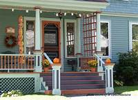 interesting front patio decor ideas Fun Fall Decorating Ideas for Your Front Porch