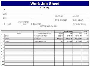 free excel spreadsheet templates delivery job sheet With service job sheet template