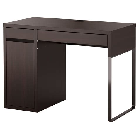 micke desk black brown 105x50 cm ikea