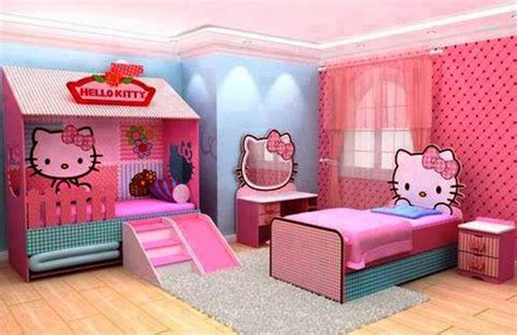 Hello Kitty Bedroom Decorating Ideas For Kids