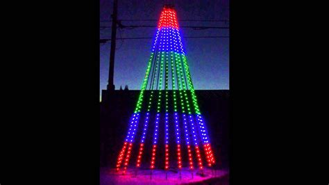 rgb pixel mega tree test youtube