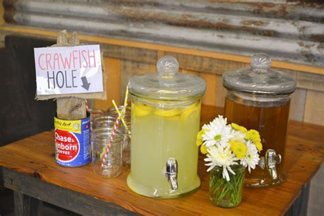 event of the week crawfish boil stock the bar shower