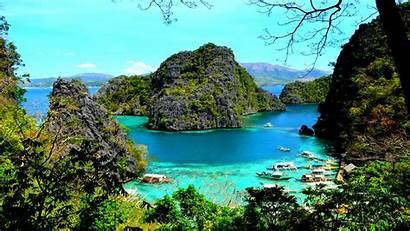 Palawan Coron Kayangan Lake Resolution Desktop Wallpapers13