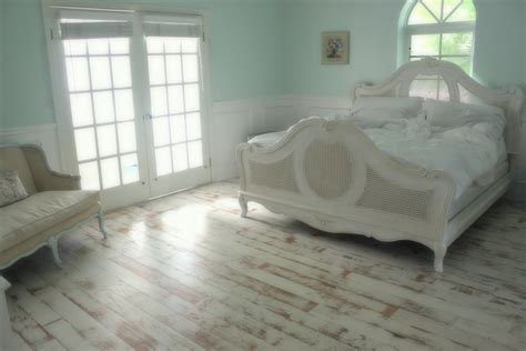 How To Paint Wood Floors Distressed White Hardwoods Design