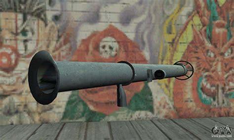bazooka  gta san andreas