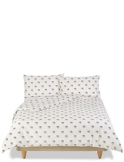 Elephant Print Bedding Set M&s