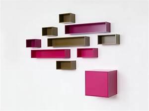 Console Murale Suspendue : etag re murale suspendue pour ranger les cd cubit ~ Premium-room.com Idées de Décoration
