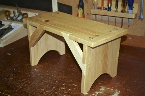 alexander woodworks shaker bench built  hand tools
