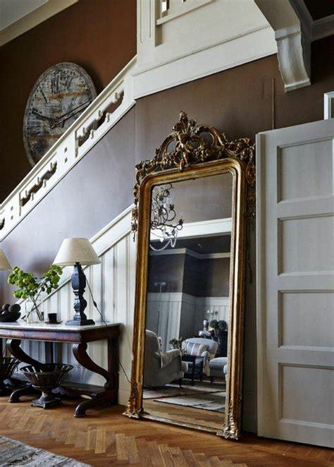 comment decorer avec le grand miroir ancien idees en