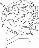 Yak Coloring Pages Worksheets Alphabet Preschool Crane Sandhill Boys Kid sketch template