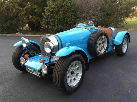 1971 Bugatti Type 37 Replica (factory Built, Not A Kit Car
