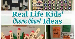 Create Kids 39 Chore Chart To Get Whole Family Involved In