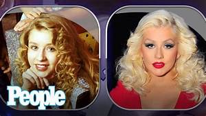 Christina Aguilera's Evolution of Looks | People - YouTube