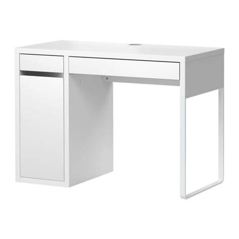 bureau ikea mikael micke escritorio blanco ikea