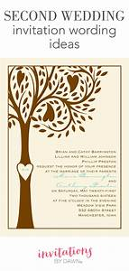 second wedding invitation wording invitations by dawn With sample wedding invitations for second marriages