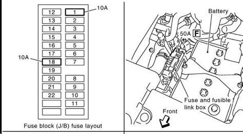 2009 Nissan Murano Fuse Box Diagram by Nissan Murano Fuse Box Diagram