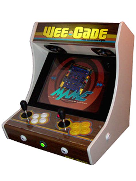 project mame weecade building a mame cabinet bartop