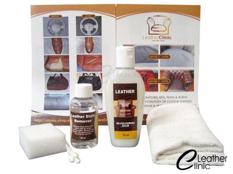 Leather Stain Removal by Leather Ink Stain Remover Kit Leather Balm Ebay