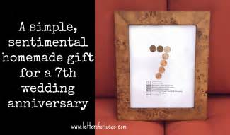 wedding anniversary gift for husband 7 years counting a great gift idea