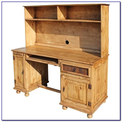 Pine Desk Hutch Pine Desk With Hutch Uk Desk Home Design Ideas