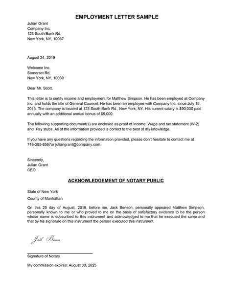 No Longer Employed Letter Template | HQ Printable Documents