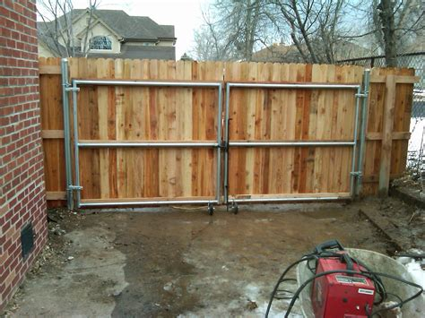 wooden gates and fences 12 x 6 wood gate w steel frame andrew thomas contractors gates pinterest steel frame