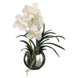 orchid arrangements silk vanda orchids flower arrangement flower