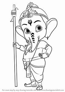 Learn How to Draw Bal Ganesh (Hinduism) Step by Step ...