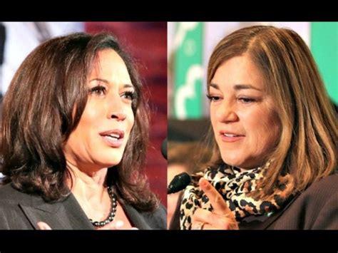 kamala harris leads loretta sanchez   voters