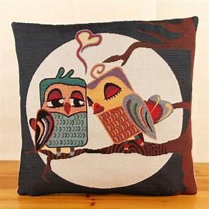 scandinavian cheap coussin cuscini 18quot cute owl sofa With cute cheap decorative pillows