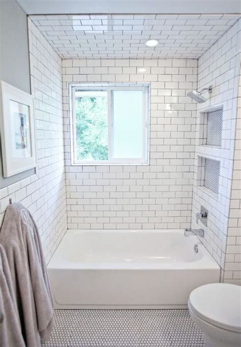 bathrooms with subway tile ideas small bathroom remodel subway tile floor tiles black and
