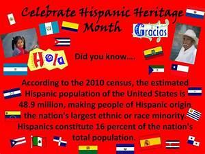 Hispanic Heritage Ppt Ppt Celebrate Hispanic Heritage Month Powerpoint