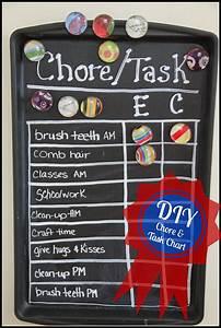 Family Chore Chart Diy Chore Task Chart Suburban City Life