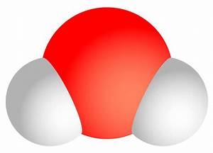 File:Water molecule.svg - Wikimedia Commons
